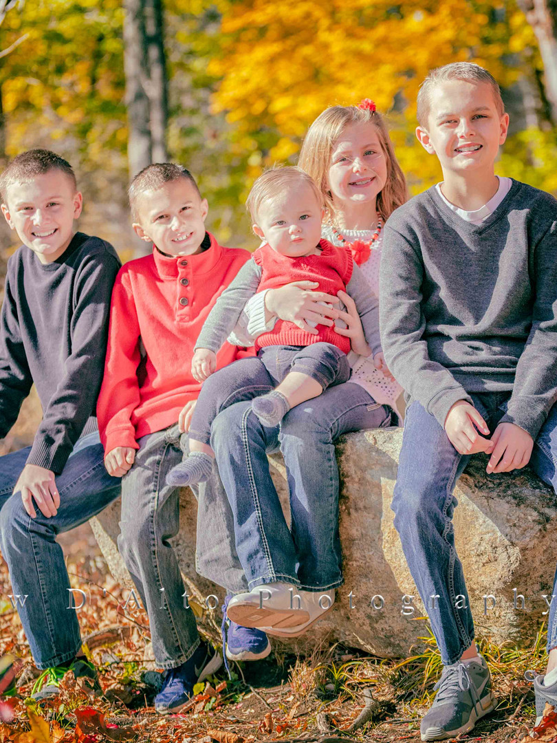 Family Portrait Photography by Matthew D'Alto Photography & Design