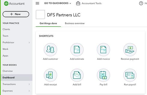 DFS Partners LLC and QuickBooks, Norwalk