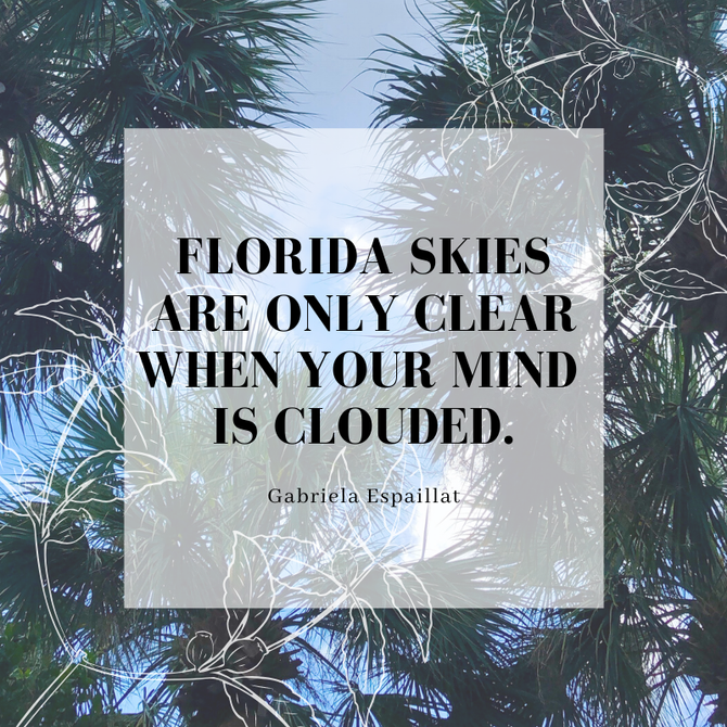 Florida Skies are Only Clear When Your Mind is Clouded