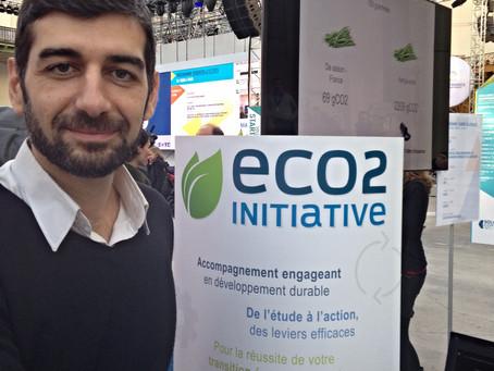 La signalétique d'ECO2 est éco-conçue