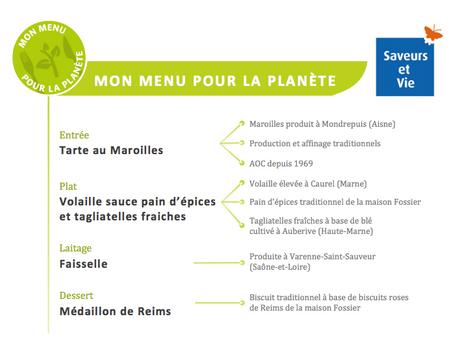 Notre client lance son 1er menu éco-conçu !