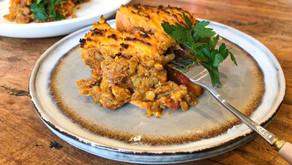 Sweet Potato Lentil Bake