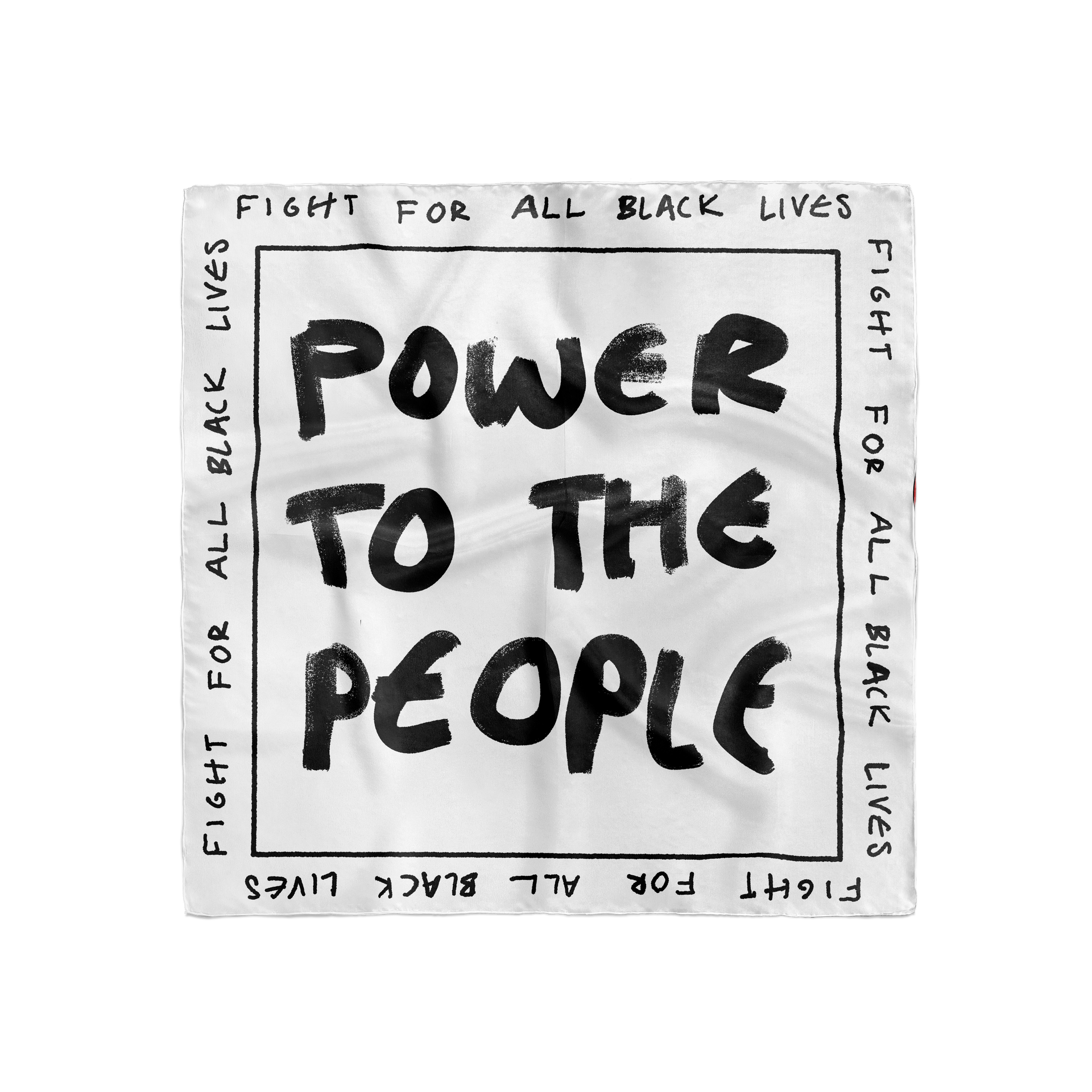 Fight for all black lives silks scarf mo