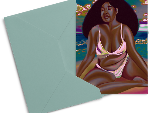 Sun Soaked Postcard