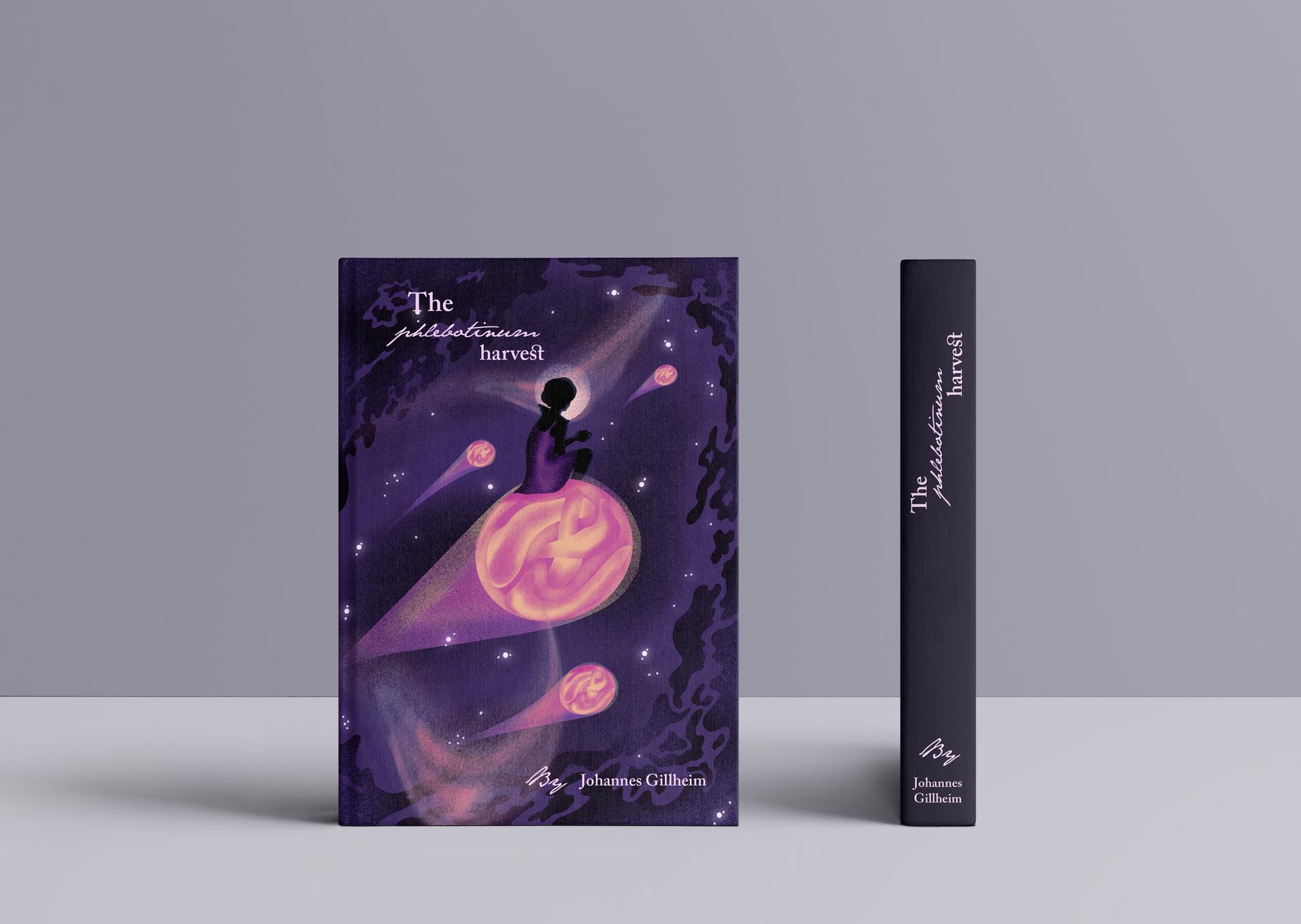 The Phlebotinum Harvest Book Cover Mocku