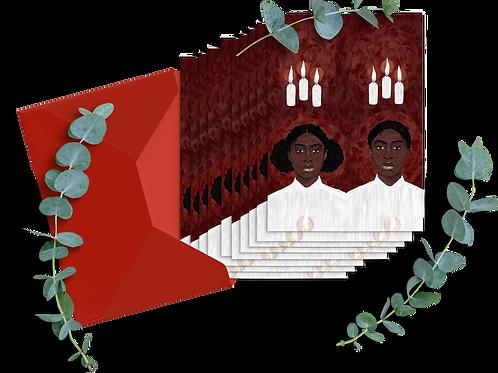 Vi är Lucia | Postcards 10-pack