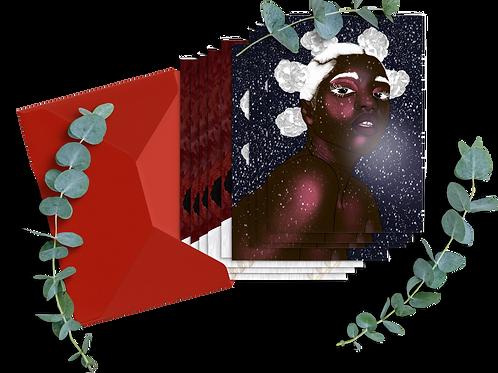 Chilly & Vi är Lucia | Postcards 10-pack