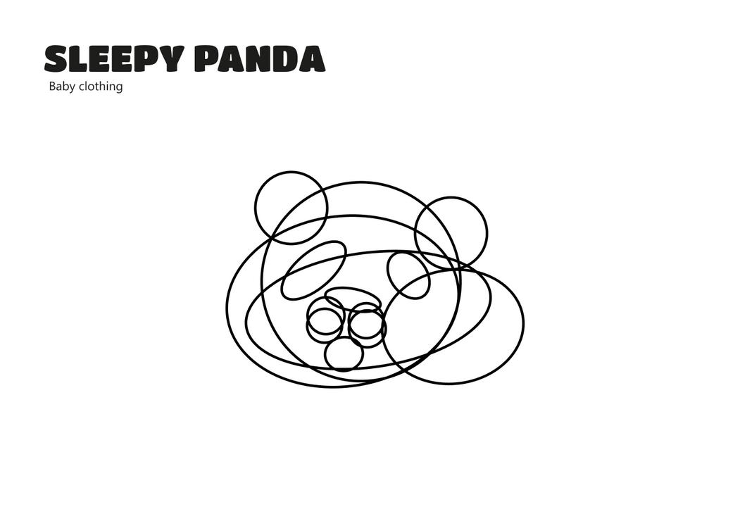 Sleepy Panda Outline.png