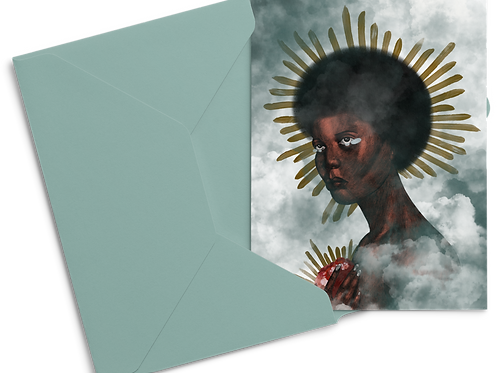 Saint Of All Hearts Broken Postcard