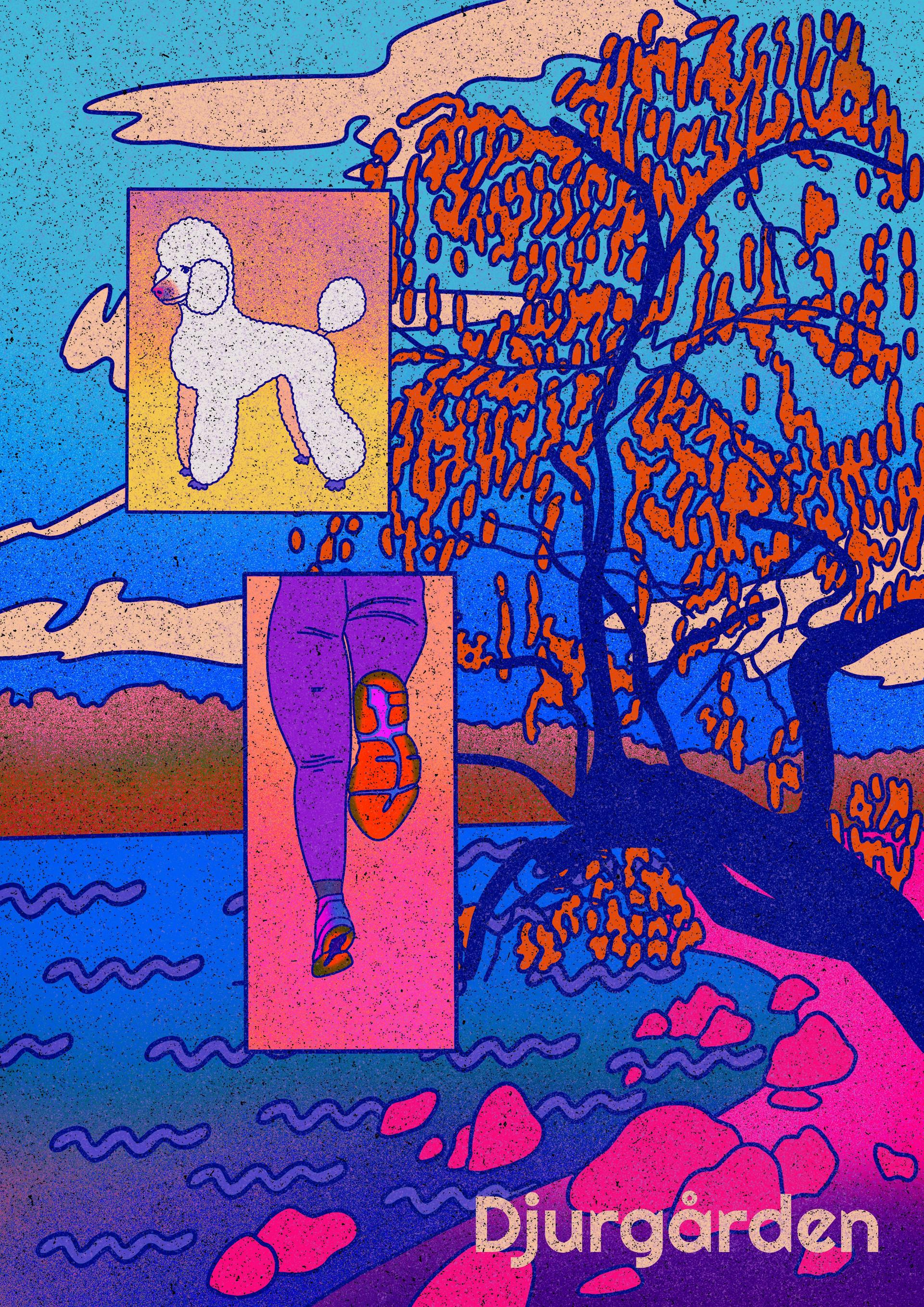 Djurgården Affisch