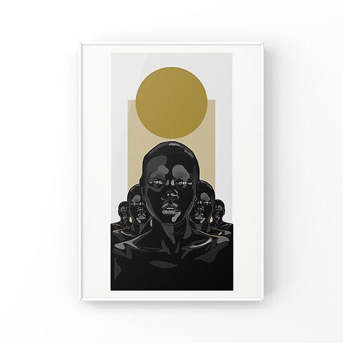 Golden Circle - black artwork