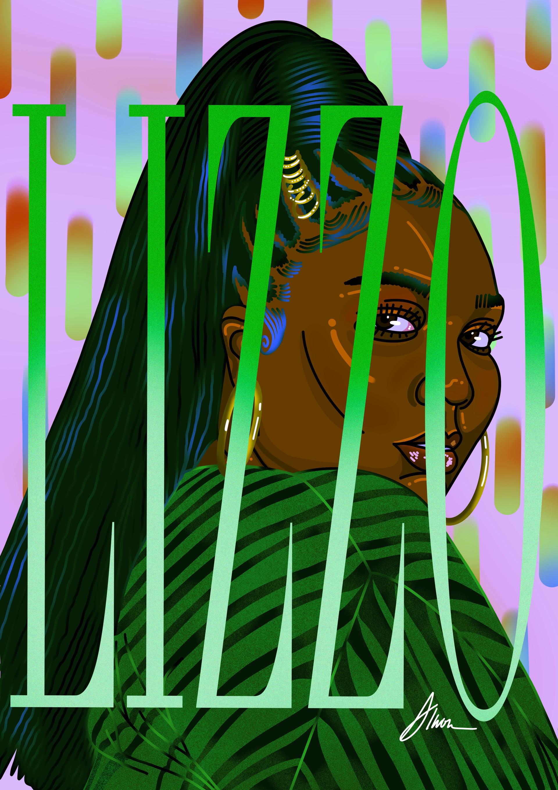 Lizzo illustration