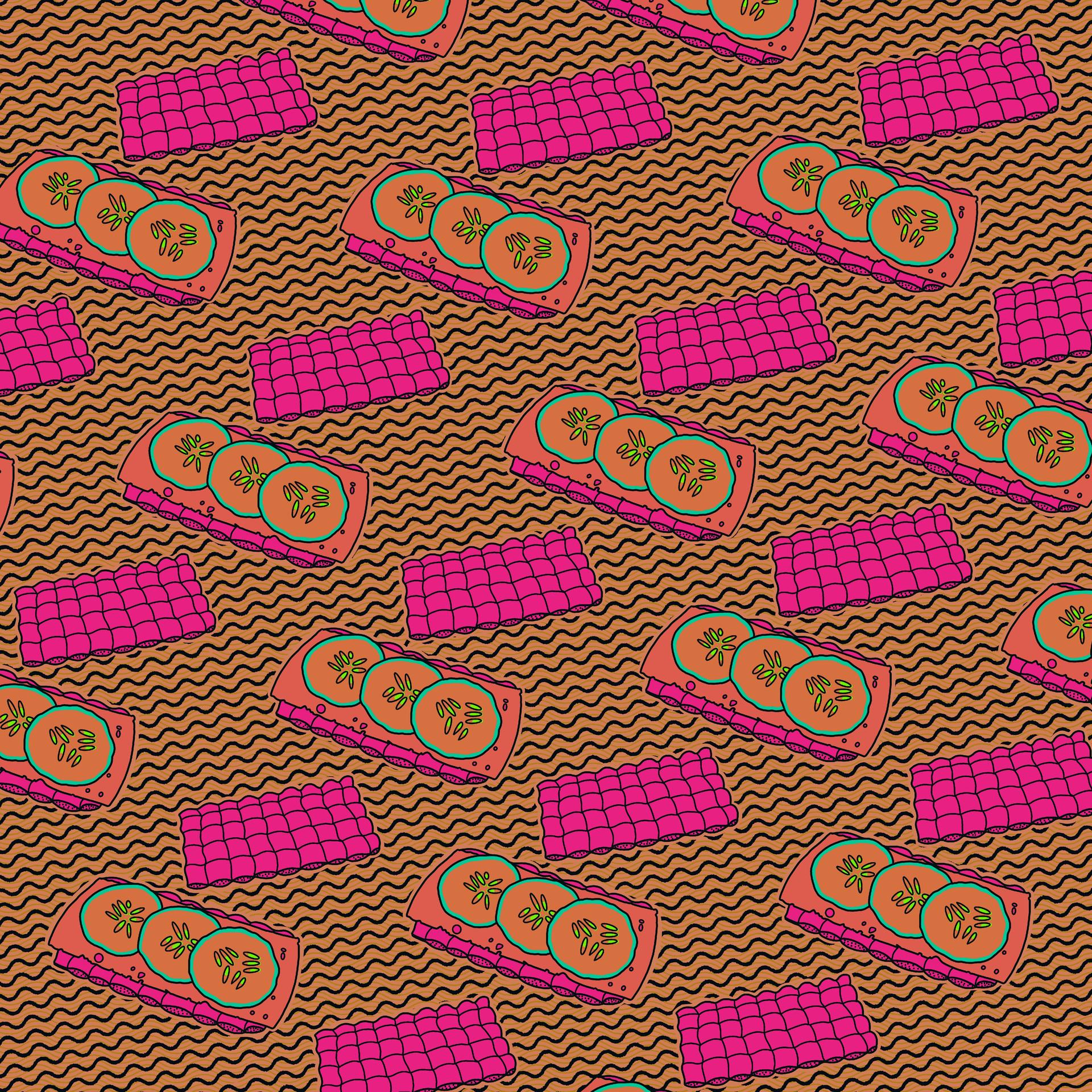 Knäckebröd mönster