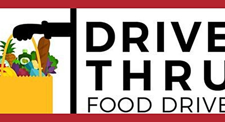 Drive-thru Food Drive for Thanksgiving