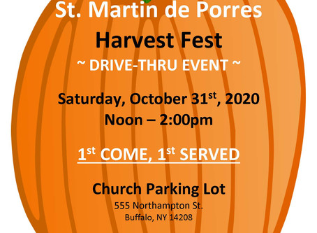 Harvest Fest Drive-Thru Event
