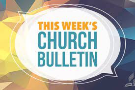 Read the Church Bulletin Online