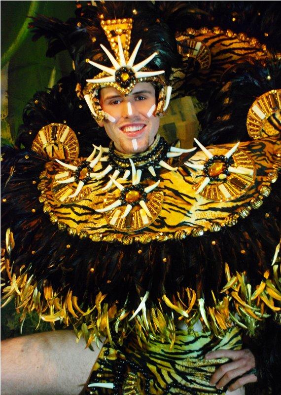 London male samba dancer 1