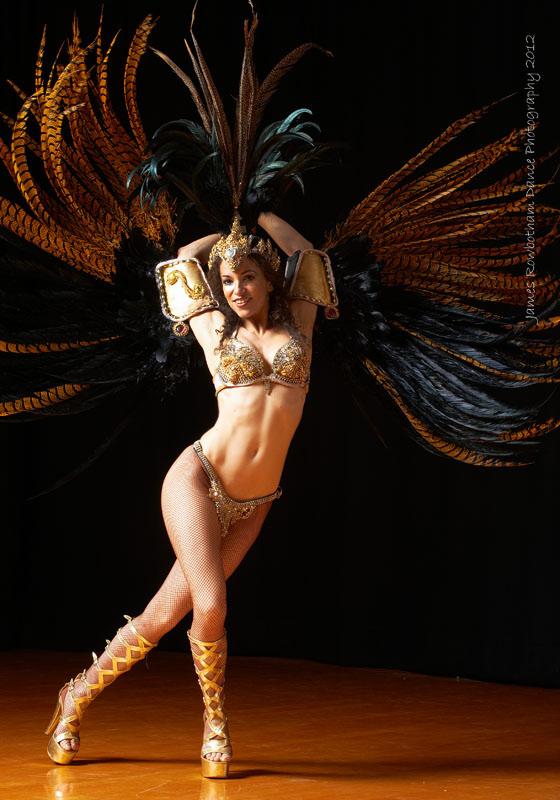 London samba dancer 2