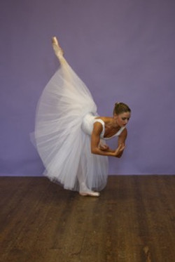 Ballet dancer in London