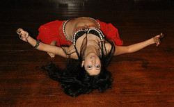London belly dancer 1