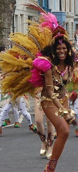 Samba dancer 7 London