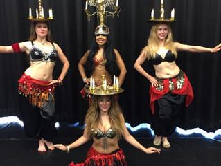 A few London belly dancers shots
