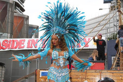 London samba dancer 4