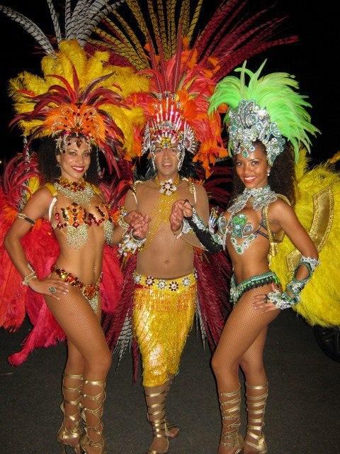 London Samba dancers 2