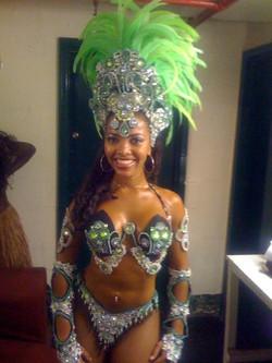 London Samba dancer 1