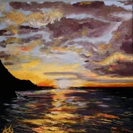 Lee Bay, Original framed.