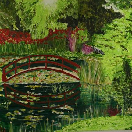 Bridge at Bennetts Water Gardens