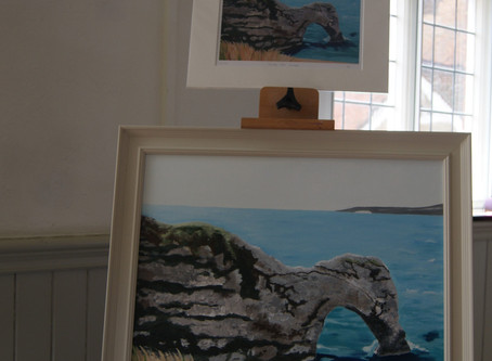 Photographs of my recent exhibition at Hastoe Village Hall as part of Bucks Art Weeks.