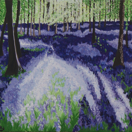 Dockey Woods at Dusk, oil on canvas.jpg