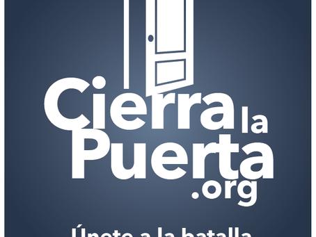 """Campaign against pornography: """"Close the Door"""" (Cierra la Puerta)"""