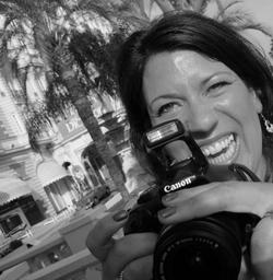 A.L. Berggren with beloved camera
