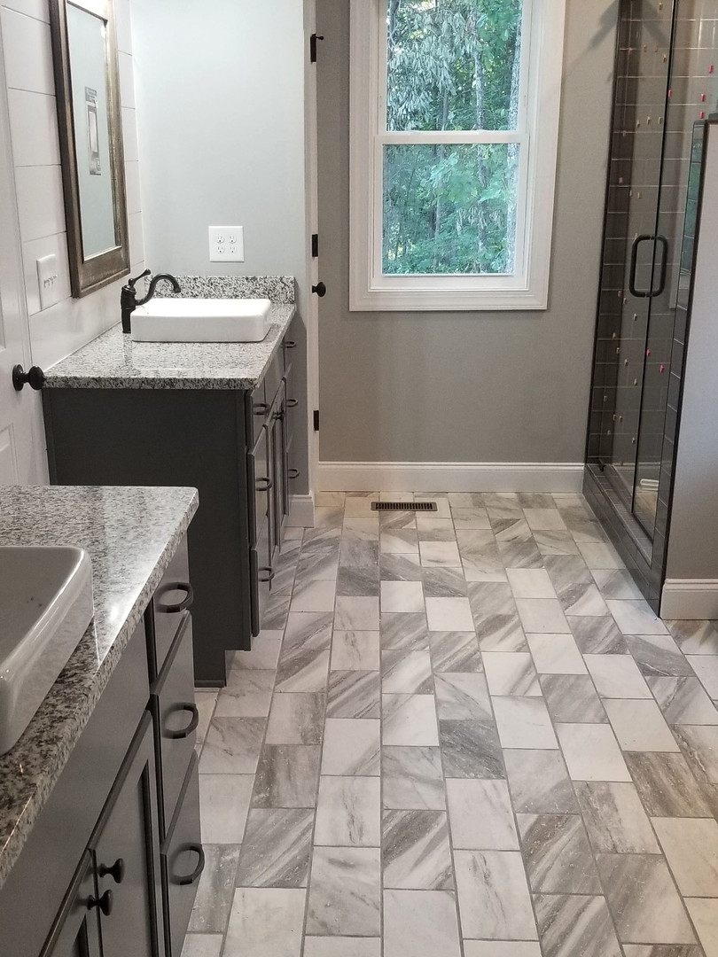 Master Bath Floor & Counter Project