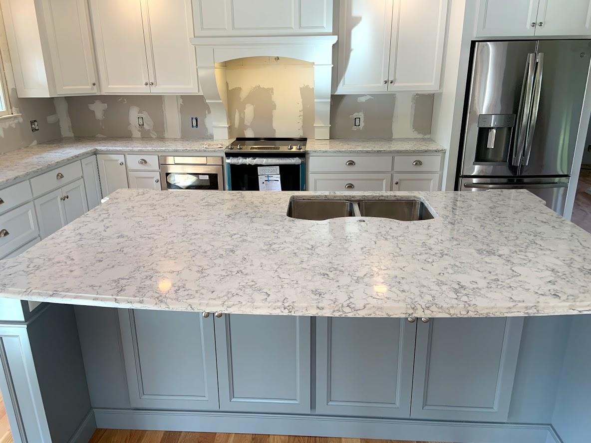 Gold Line Granite Tile Countertops Floors