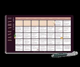 Juniper Abbey 2021 Content Calendar