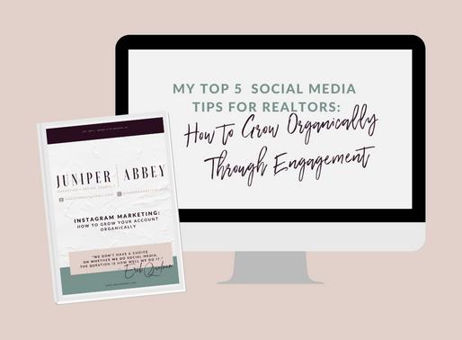 My Top 5 Social Media Tips for Realtors: Episode 2