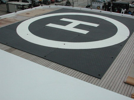 PROTECT YOUR YACHT DECK WITH A SUPERYACHT HELIMAT MX