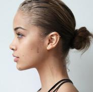 Photo of fashion model Jasmine Sanders -