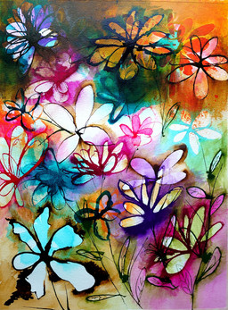 Floral Abstract II