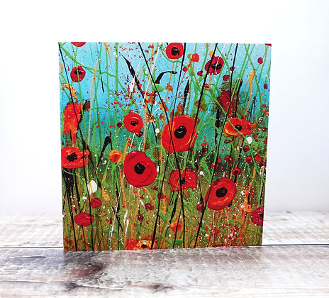 Pack of 5 Greetings Cards of Your Choice