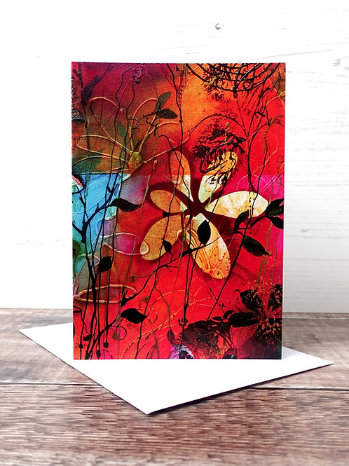 Pack of 4 Greeting Cards of Your Choice