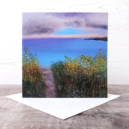 Single Greeting Card - A Path Well Trodden