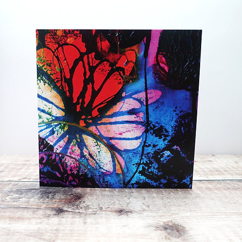 Single Greeting Card - from Flower Forest (I)