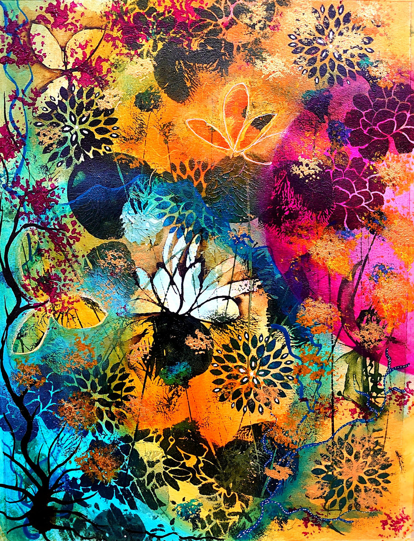 Abstract Floral