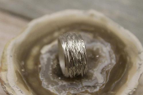 Zilveren ring met filigraan