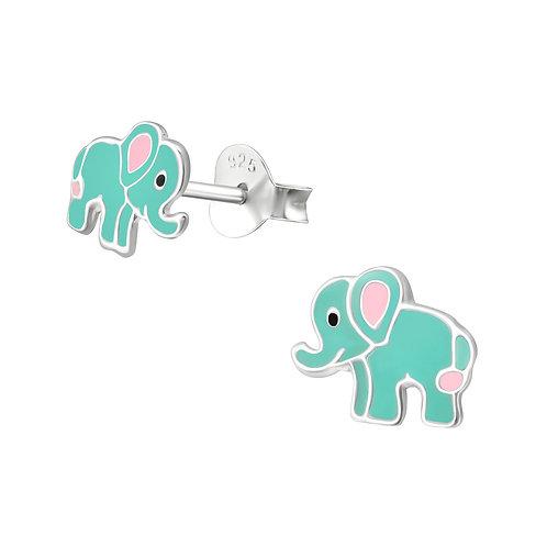 Zilveren olifantjes (klein model)