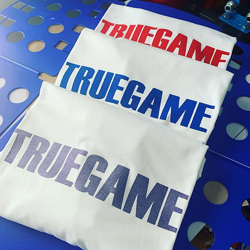 Custom True Game Any Color Print Tee